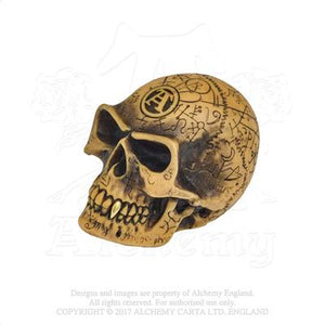 Alchemy - The Vault Omega Skull Gearstick Knob from Gothic Spirit