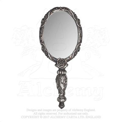 Alchemy - The Vault Baroque Rose Hand Mirror from Gothic Spirit