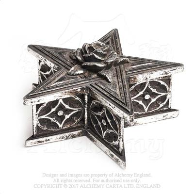 Alchemy - The Vault Pentagram Trinket Box from Gothic Spirit