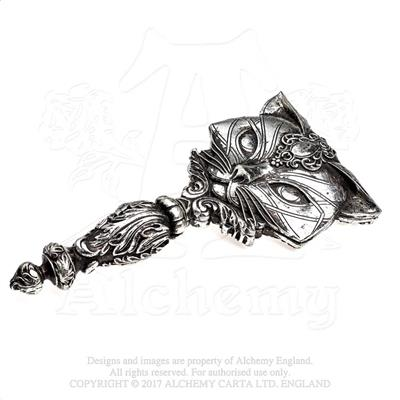 Alchemy - The Vault Sacred Cat Hand Mirror - Gothic Spirit