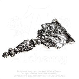 Alchemy - The Vault Sacred Cat Hand Mirror from Gothic Spirit