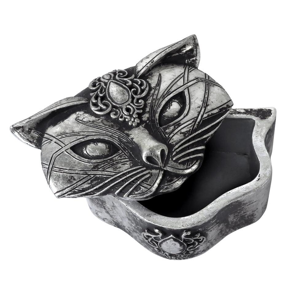 Alchemy - The Vault Sacred Cat Trinket Box from Gothic Spirit