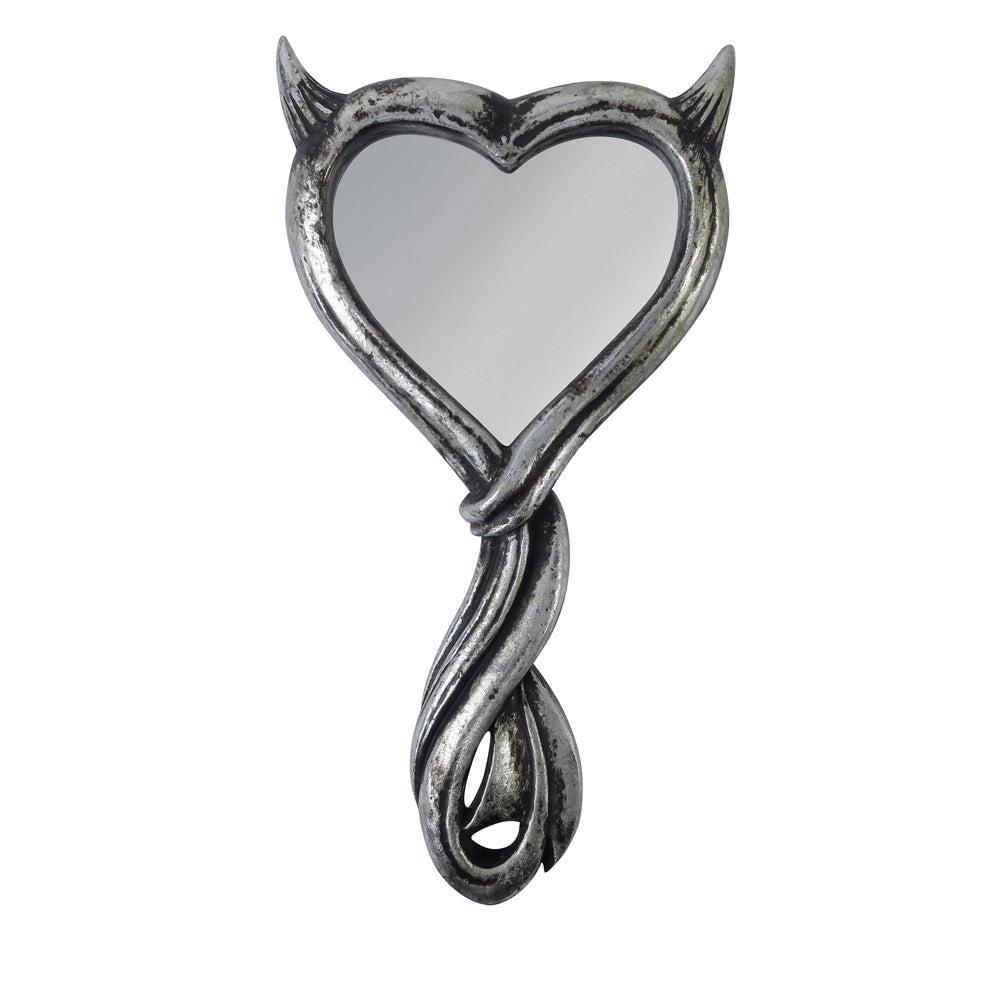 Alchemy - The Vault Devil's Heart Hand Mirror from Gothic Spirit