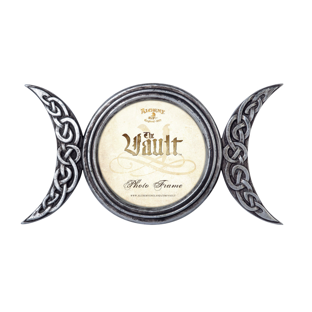 Alchemy - The Vault Triple Moon Photo Frame from Gothic Spirit