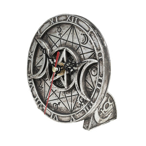 Alchemy - The Vault Wiccan Desk Clock from Gothic Spirit