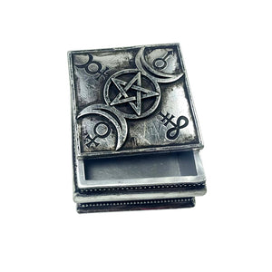 Alchemy - The Vault Triple Moon Spell Box from Gothic Spirit