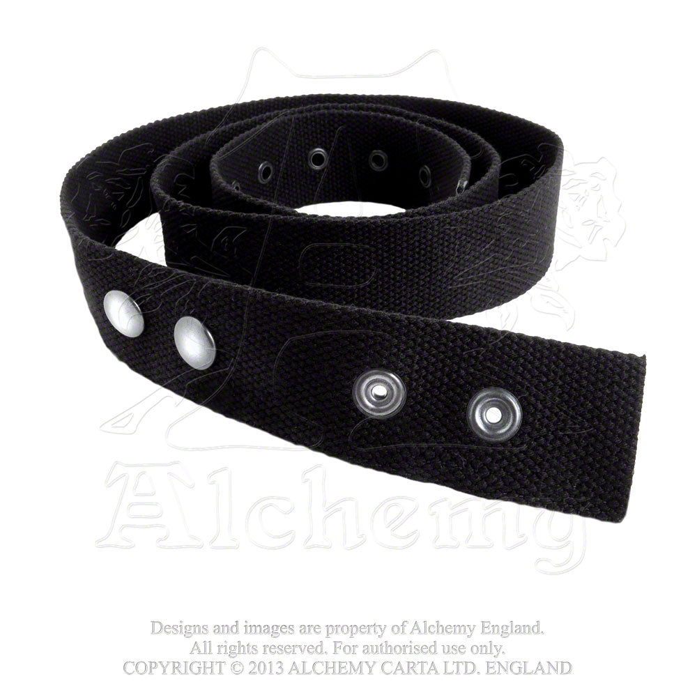 Alchemy Rocks Canvas Belt from Gothic Spirit