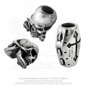 Alchemy Gothic Funereal Beard & Hair Beads Beard Beads from Gothic Spirit