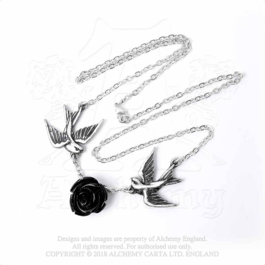 Alchemy Gothic Love Returns Pendant - Gothic Spirit