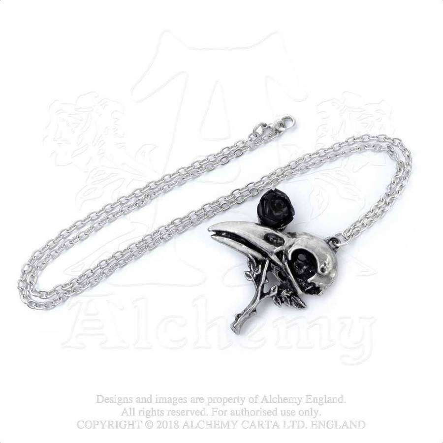 Alchemy Gothic Quietus Rose Pendant from Gothic Spirit