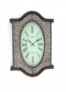 "20"" x 30.5"" x 2.5"" Brown, Bronze, Vintage -Wall Clock - Buy JJ's Stuff"