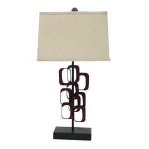"13"" x 15"" x 31"" Bronze, Traditional - Table Lamp - Buy JJ's Stuff"