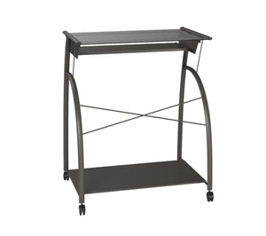 "32"" X 24"" X 30"" Pewter Metal Tube Computer Desk - Buy JJ's Stuff"