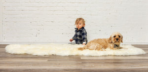 "48"" x 72"" x 2"" Natural, Sheepskin - Area Rug - Buy JJ's Stuff"