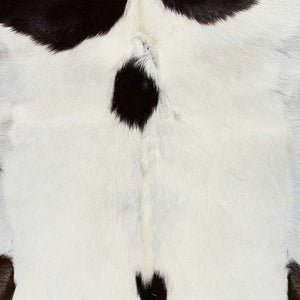 "2"" x 3"" White And Chocolate Calfskin - Area Rug - Buy JJ's Stuff"