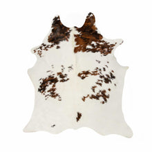 "72"" x 84"" Salt & Pepper Cowhide Rug - S&P Chocolate-White - Buy JJ's Stuff"