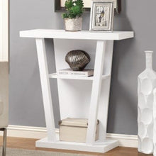 "11'.5"" x 31'.5"" x 33'.75"" White, Particle Board, Hollow-Core - Accent Table"