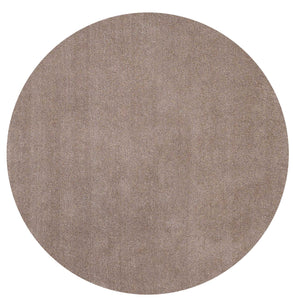 8' Round Polyester Beige Area Rug - Buy JJ's Stuff