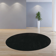 8' Round Polyester Espresso Area Rug - Buy JJ's Stuff