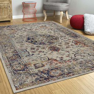 "7'10""X 10'10"" Polypropylene Ivory Area Rug - Buy JJ's Stuff"