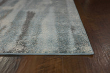 "7'10"" x 10'10"" Polypropylene Teal Area Rug - Buy JJ's Stuff"