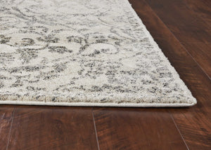 "7'10"" x 9'10"" Polypropylene Ivory Area Rug - Buy JJ's Stuff"