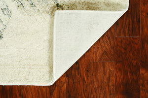 "7'10"" x 9'10"" Polypropylene Ivory-Grey Area Rug - Buy JJ's Stuff"