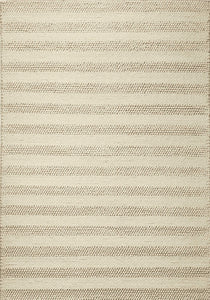 "7'6"" x 9'6"" Wool White Area Rug - Buy JJ's Stuff"