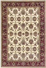 "9'10"" X 13'2"" Polypropylene Ivory-Red Area Rug - Buy JJ's Stuff"