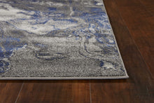 "5'3"" x 7'7"" Polypropylene Grey Area Rug - Buy JJ's Stuff"