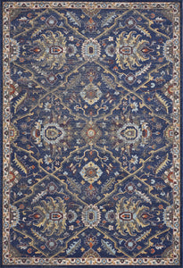 "5'3""X 7'7"" Polypropylene Royal Blue Area Rug - Buy JJ's Stuff"