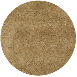 6' Round Polyester Gold Area Rug - Buy JJ's Stuff