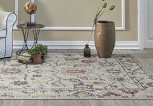 "7'7"" Octagon Polypropylene Black-Beige Area Rug - Buy JJ's Stuff"