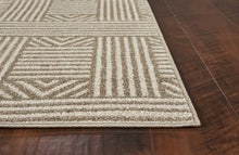 "7'7"" x 10'10"" UV-treated Polypropylene Beige Area Rug - Buy JJ's Stuff"