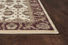 "3'3"" x 4'11"" Polypropylene Ivory-Red Area Rug - Buy JJ's Stuff"