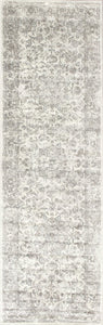 "2'2""X 6'11"" Runner Viscose Silver Area Rug - Buy JJ's Stuff"
