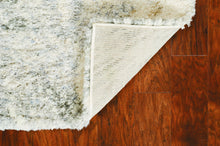 "3'9"" x 5'11"" Polypropylene Ivory-Grey Area Rug - Buy JJ's Stuff"