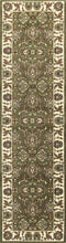 "7'7"" x 10'10"" Polypropylene Green-Ivory Area Rug - Buy JJ's Stuff"