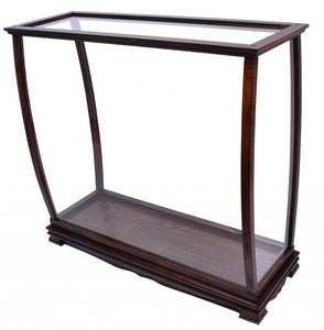"13.75"" x 40"" x 39.25"" Brown, Table Top Display Case Classic - Buy JJ's Stuff"
