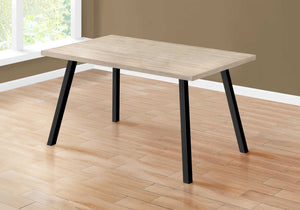 "60"" X 36"" X 31 "" Dark Taupe Black Metal Dining Table - Buy JJ's Stuff"