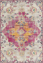 "118"" x 158"" x 0.35"" Magenta Olefin-Frieze Rug"