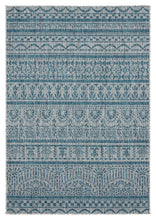 "63"" x 90"" x 0.04"" Aqua Polypropylene Area Rug - Buy JJ's Stuff"