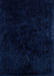 "63"" x 86"" Navy Polyester Area Rug - Buy JJ's Stuff"