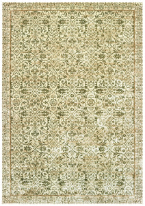 "31"" x 98"" x 0.13"" Green Viscose Runner Rug - Buy JJ's Stuff"