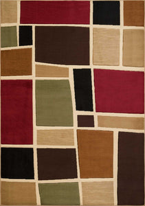 "22"" x 36"" x 0.43"" Multi Polypropylene Accent Rug - Buy JJ's Stuff"
