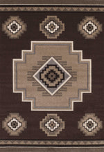 "61"" x 90"" x 0.5"" Brown Polypropylene Area Rug - Buy JJ's Stuff"