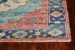"27"" X 45"" Blue Jute - Polyester Rug - Buy JJ's Stuff"