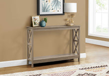 Rectangular Dark Taupe Hall Console Accent Table - Buy JJ's Stuff