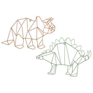 Dinosaurs Metal Wall Decor - Buy JJ's Stuff