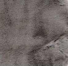 Luxe Faux Rabbit Fur Rectangular Rug 3' X 5' - Grey - Buy JJ's Stuff